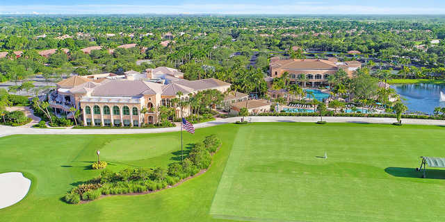 A view of the practice area at Country Club At Mirasol.