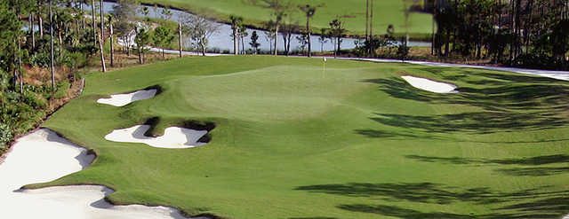 A view of a hole at Country Club At Mirasol.