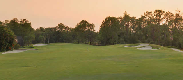 A view from a fairway at Countryside Golf Club.