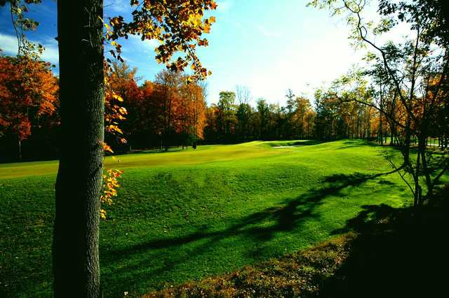 A view of the 7th fairway at Blue Mash Golf Course.