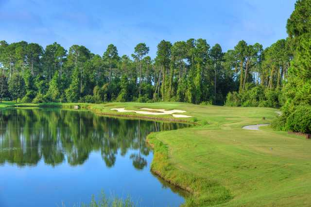 View of a green at Amelia National Golf and Country Club