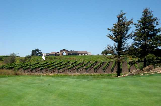 It's not uncommon for the views to leave folks feeling thirsty as they finish their round at Eagle Vines Vineyards & Golf Club.
