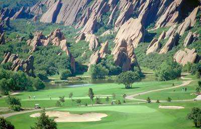 View from Arrowhead Golf Club