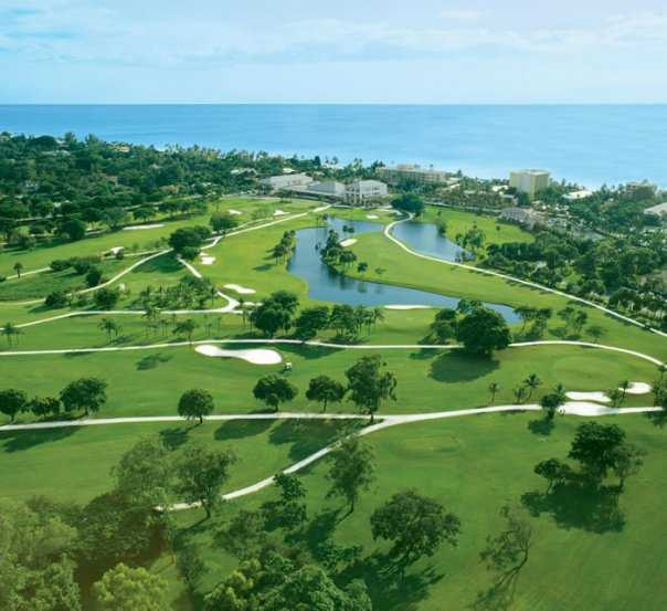 Aerial view from Naples Beach Hotel & Golf Club