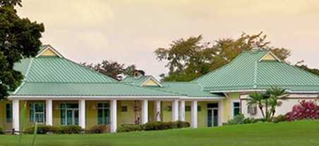 A view of the clubhouse at Southwinds Golf Course