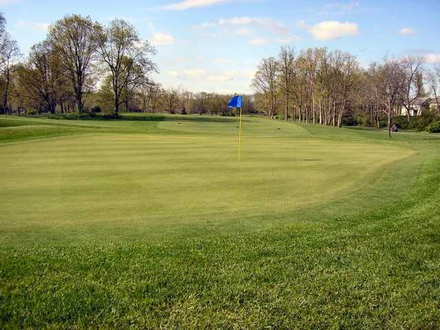 A view of the 4th hole at Heritage Oaks Golf Course