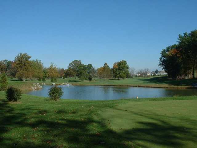 A view of the 11th tee at Heritage Oaks Golf Course