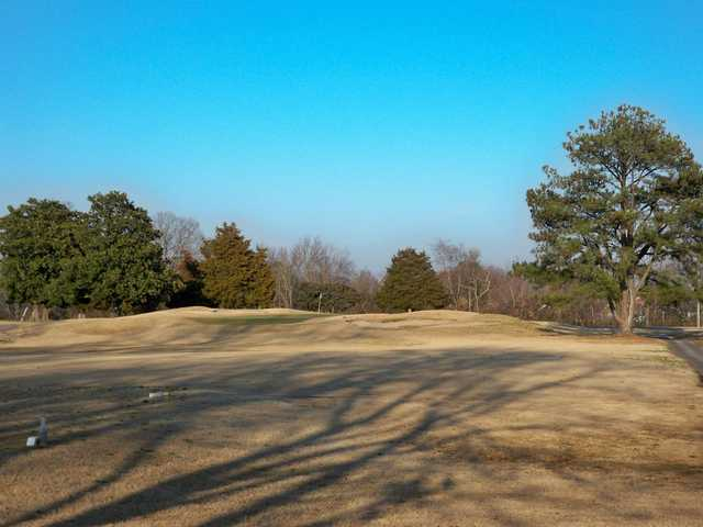 A view of the 4th green at Sleepy Hole Golf Course