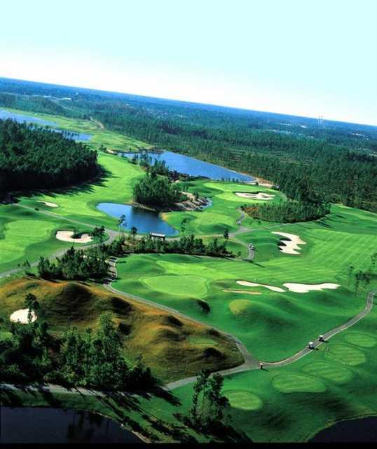 Aerial view from Golf Club at Hilton Head Lakes