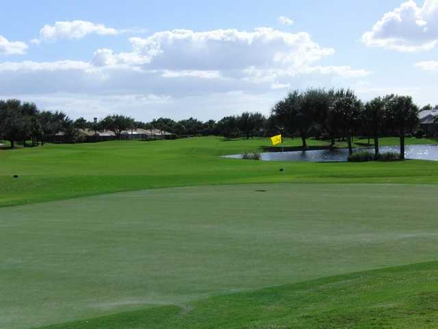 A view of hole #9 at Worthington Country Club