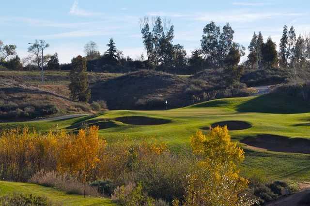 A view from Morongo Golf Club at Tukwet Canyon