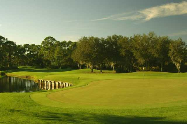 A view of the 7th green at Riverwood Golf Club