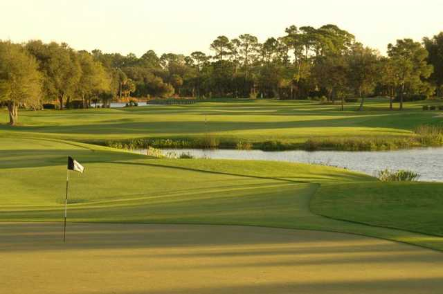 A view of hole #8 at Riverwood Golf Club