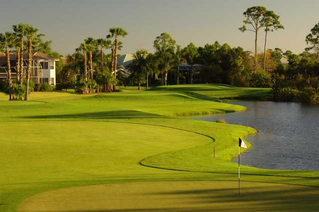 A view of the 13th hole at Riverwood Golf Club