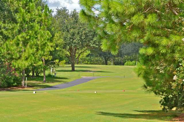 A view from the 7th tee at Buckhorn Springs Golf & Country Club