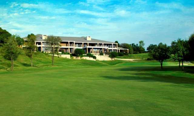 A view of the clubhouse at Mira Vista Golf Club