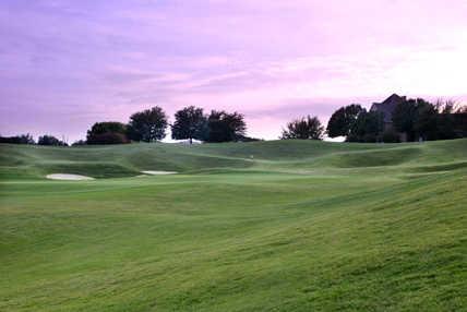 A view of hole #9 at Mira Vista Golf Club