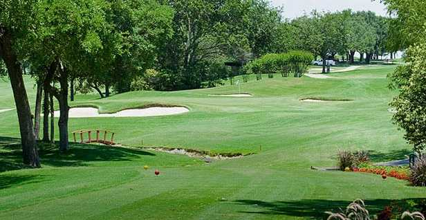 A view from Ridglea Country Club