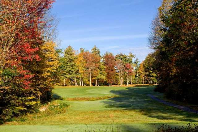 An October view from tee #4 at Green Woods Country Club