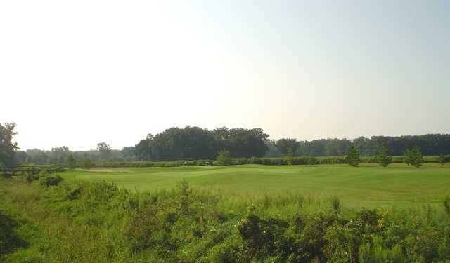 A view of the 3rd hole at White Pines Golf Course
