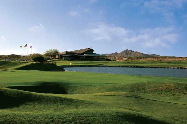 A view of hole #9 at ASU Karsten Golf Course