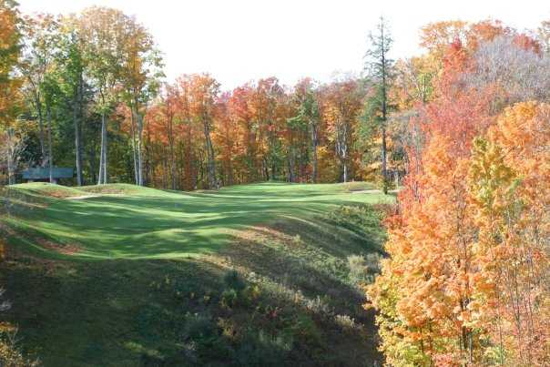 A beautiful autumn view from The Chief Golf Course