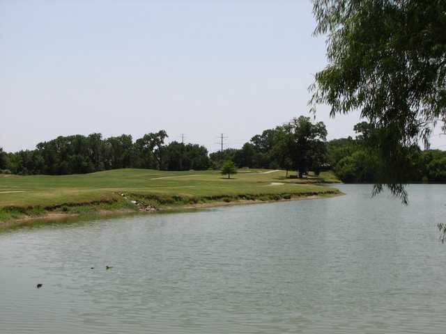 A view from Irving Golf Club.