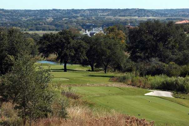 A view from tee at Comanche Trace