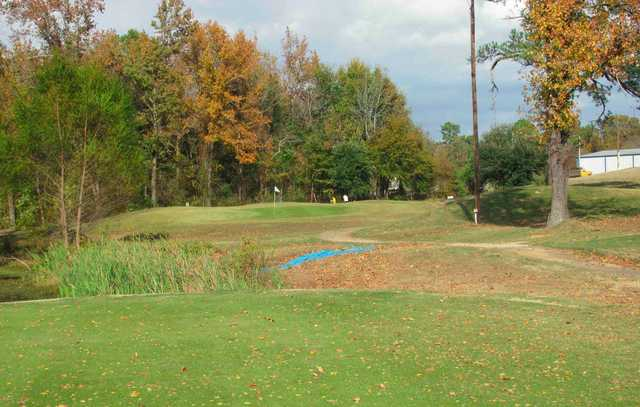 A view of the 3rd hole at Divine Nine & Alpine Target Golf