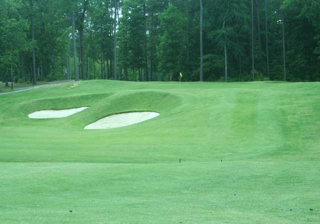 A view of green at Texarkana Golf Ranch