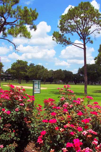 A view from tee #1 (courtesy of Ft. Bend Country Club)