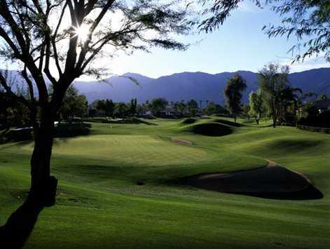 A view of green #5 at La Quinta Resort Citrus Course (Evan Schiller)