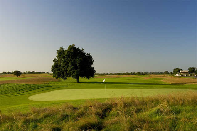A view of a hole at Twin Oaks Championship Course from Moyvalley Hotel & Golf Resort