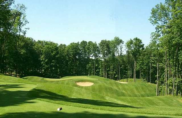A view of the 2nd hole at The Chief Golf Course