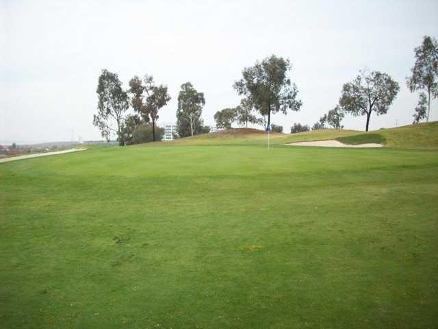 A view of the 6th hole at Santa Clara Golf & Tennis Club.