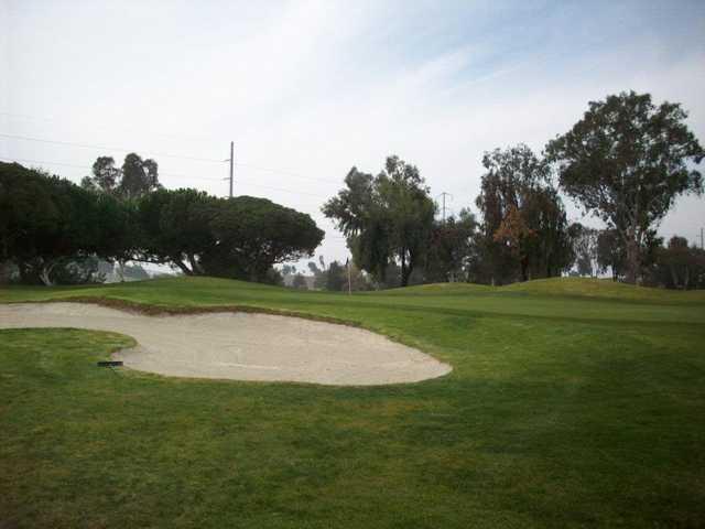A view of hole #17 at Santa Clara Golf & Tennis Club.