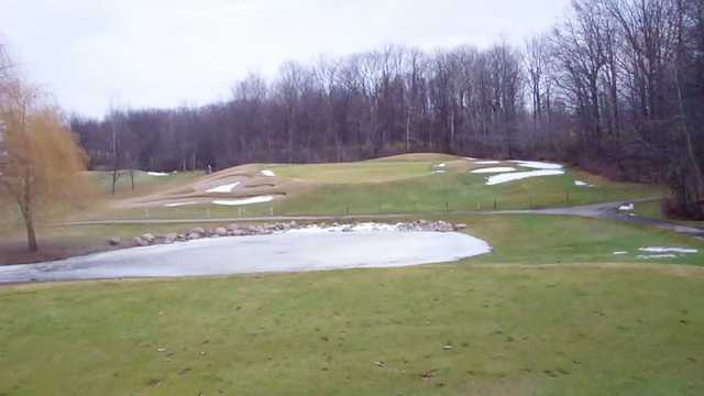A view of the 4th hole at West Course from Links of Novi