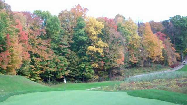 A fall view from Links of Novi