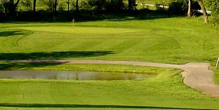 A view from Hodge Park Golf Course