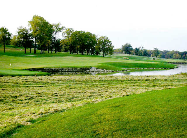 A view of the 13th hole at Tiffany Greens Golf Club