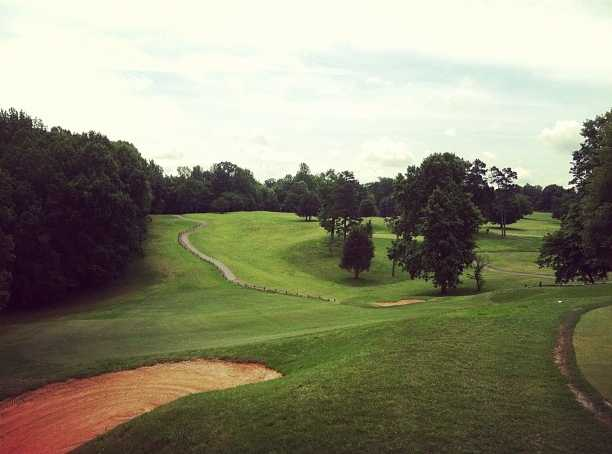 A view from Reynolds Park Golf Course