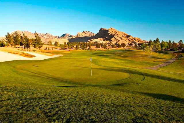 A view of a green at Eagle Crest Course from Golf Summerlin