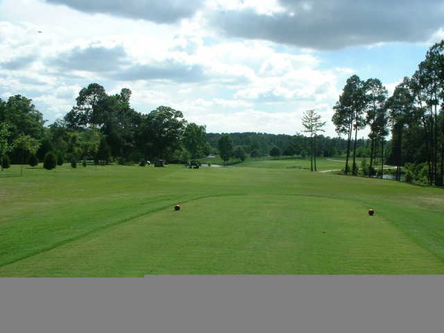 A view from tee #7 at Lake Jonesco Golf Course