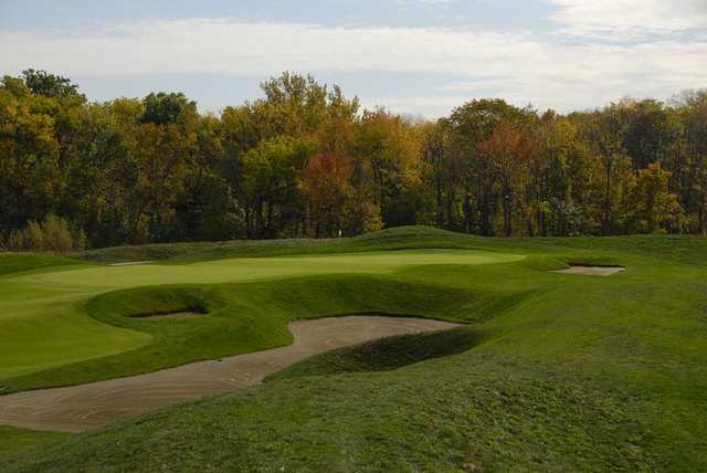 A fall view from Hickory Stick Golf Club