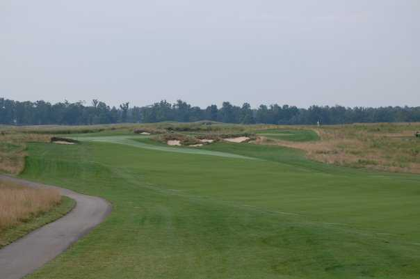 A view of the 11th hole at Chariot Run
