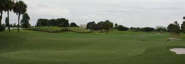 A view of the 7th hole at Davie Golf & Country Club