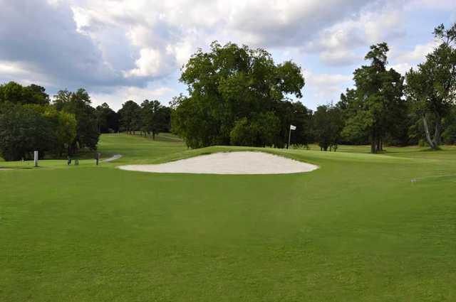A view from Augusta Municipal Golf Course.