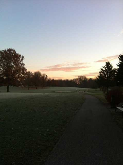 A view of hole #10 at South Course from Pebble Brook Golf & Country Club