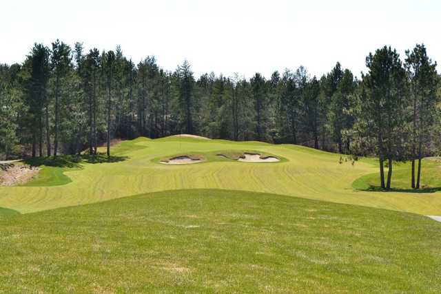 A view of the 1st hole at Quarry Course from Giants Ridge Golf & Ski Resort