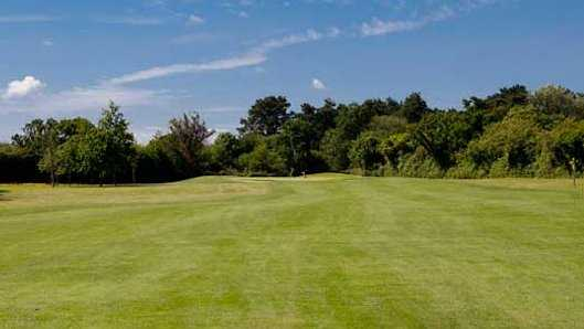 A view of the 15th green at Callan Golf Club